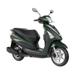 Yamaha delight Velvet Green | ortega motos tarragona