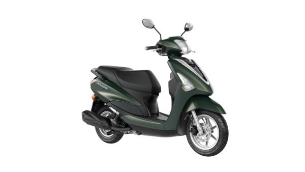 Yamaha delight Velvet Green   ortega motos tarragona