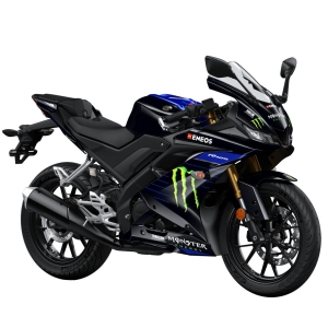 Yamaha R125 Monster Black_ortega bikes | ortega garage