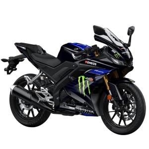 Yamaha R125 Monster Black_ortega bikes | ortega garage