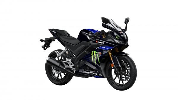 Yamaha R125 Monster Black_ortega bikes   ortega garage